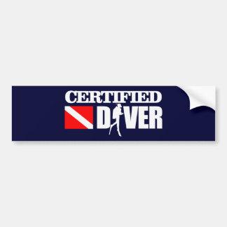 Certified Diver 2 Bumper Sticker