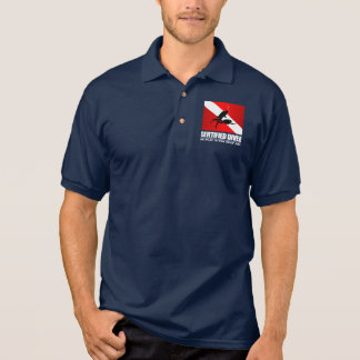 Certified Diver (Deep End) Apparel Polo Shirt