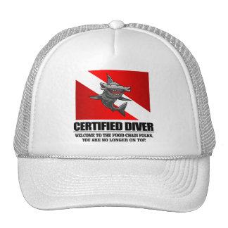 Certified Diver (Food Chain) Trucker Hat