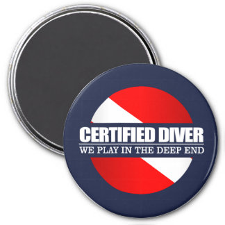 Certified Diver (rd) Magnet