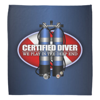 Certified Diver (ST) Bandana
