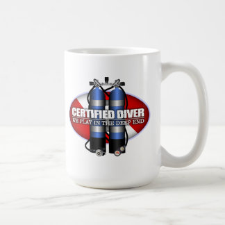 Certified Diver (ST) Coffee Mug