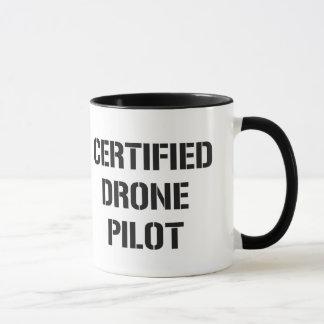 Certified Drone Pilot coffee mug