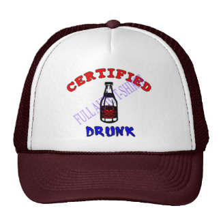 Certified-Drunk-poison-medi Trucker Hat