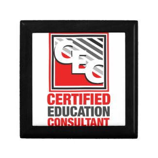 Certified Education Consultant Jewelry Box