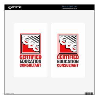 Certified Education Consultant Skin For Kindle Fire