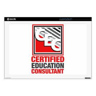 Certified Education Consultant Skin For Laptop