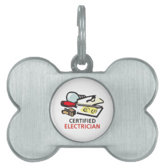 CERTIFIED ELECTRICIAN PET TAG