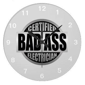 Certified Electrician Wall Clock