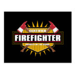 Certified Firefighter Post Card