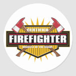 Certified Firefighter Sticker