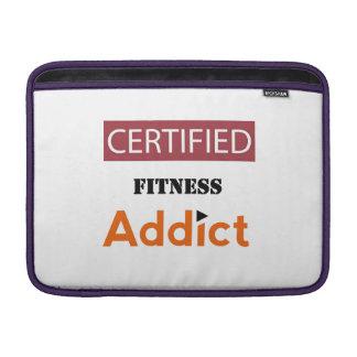 Certified Fitness Addict MacBook Sleeve
