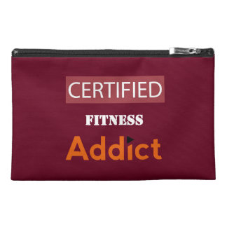 Certified Fitness Addict Travel Accessory Bag