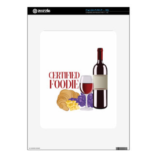 Certified Foodie Skins For The iPad