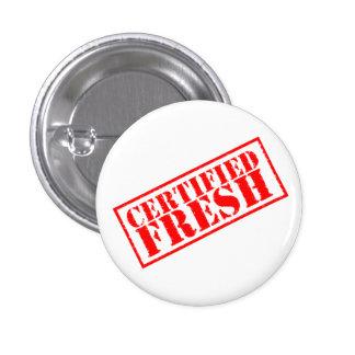 Certified Fresh (Button) 1 Inch Round Button