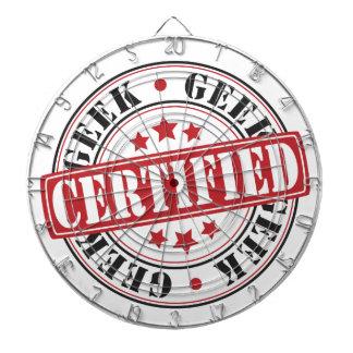 Certified Geek Dart Board