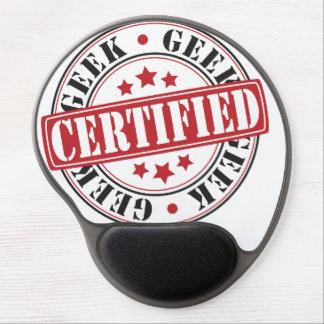 Certified Geek Gel Mouse Pad