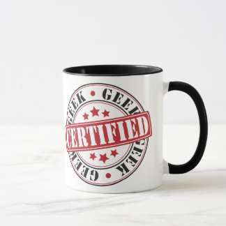 Certified Geek Mug