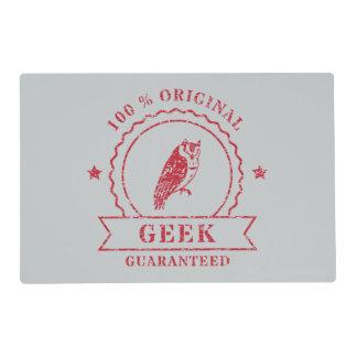 Certified Geek Placemat