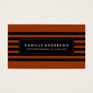 Certified General Accountant Template Business Card