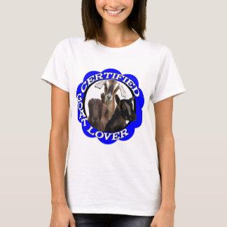 CERTIFIED GOAT LOVER! T-Shirt