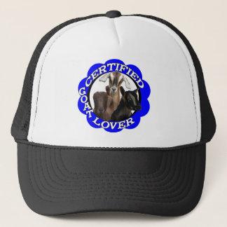 CERTIFIED GOAT LOVER! TRUCKER HAT