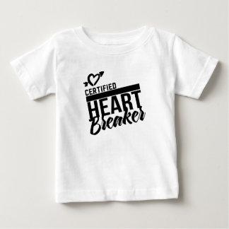Certified Heart Breaker Baby T-Shirt