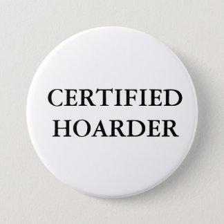 CERTIFIED HOARDER BUTTON
