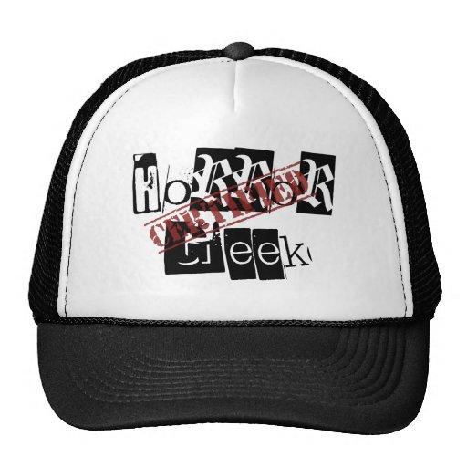 Certified Horror Geek Hat