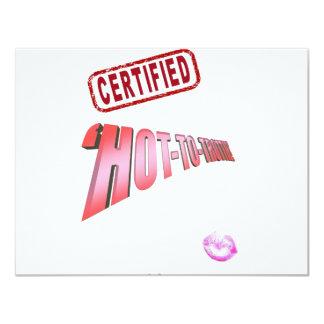CERTIFIED 'HOT-TO-TROTTIE!' CARD