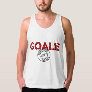 Certified Insane Goalie Men's Tank Top