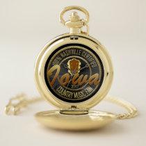 Certified Iowa Country Music Fan Pocket Watch