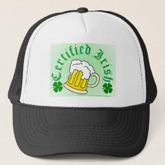 Certified Irish Beer 2gradient Trucker Hat