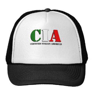 Certified Italian American Trucker Hat
