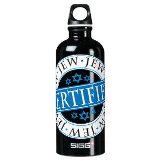 Certified Jew Aluminum Water Bottle