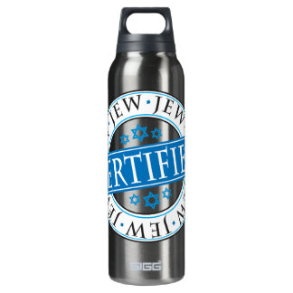 Certified Jew Insulated Water Bottle