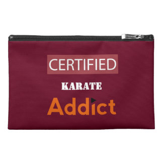 Certified Karate Addict Travel Accessory Bag