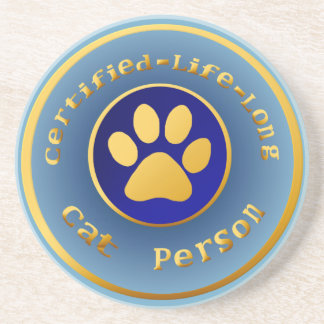 Certified-Life-Long-Cat-Person Coasters