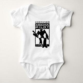 Certified Mecha Pilot Baby Bodysuit