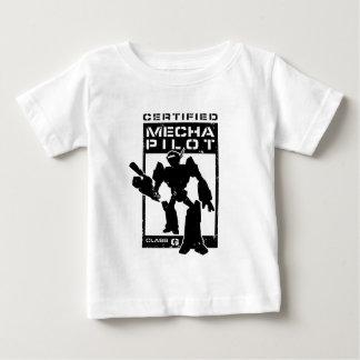 Certified Mecha Pilot Baby T-Shirt