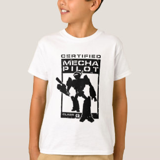 Certified Mecha Pilot T-Shirt
