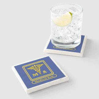 Certified Medical Assistant Stone Coaster