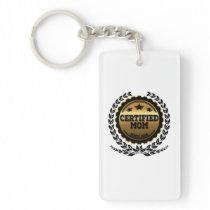 Certified Mom Since 2018 Keychain