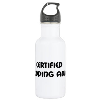 Certified Mudding Addict 18oz Water Bottle