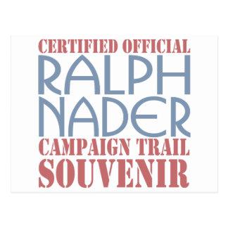 Certified Nader Postcard