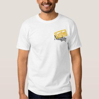 Certified Naughty T-shirt