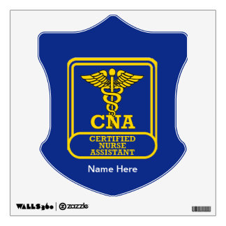 Certified Nurse Assistant Shield Wall Decal