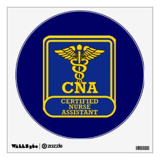 Certified Nurse Assistant Shield Room Sticker
