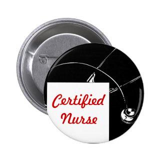 Certified Nurse 2 Inch Round Button