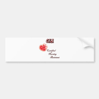 CERTIFIED NURSING ASSISTANT BUMPER STICKER